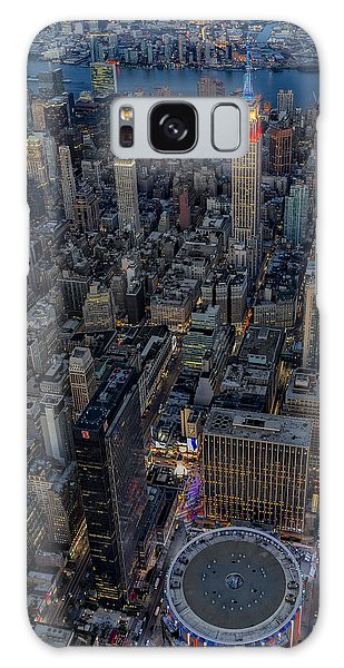 Galaxy Case featuring the photograph September 11 Nyc Tribute by Susan Candelario