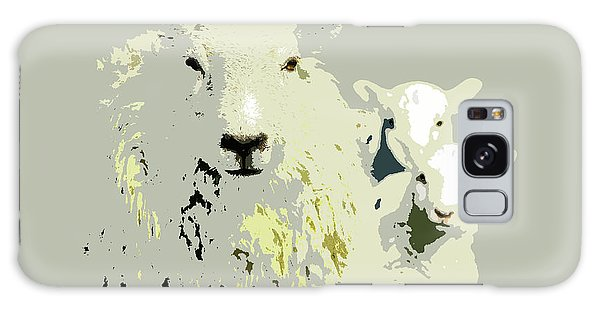 Sheep With Lambs Galaxy Case