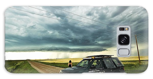Shelf Cloud Near Vibank Sk. Galaxy Case