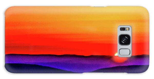 Shenandoah Valley Sunset Galaxy Case