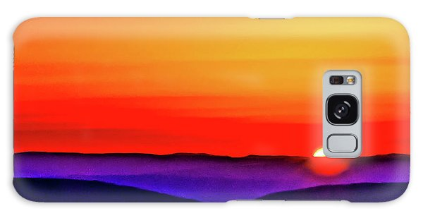 Shenandoah Valley Sunset Galaxy Case