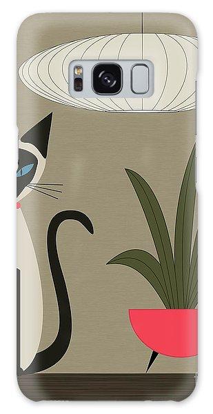 Siamese Cat On Tabletop Galaxy Case