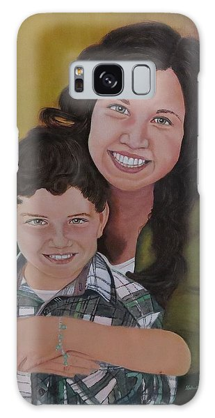 Siblings Galaxy Case by Sharon Schultz