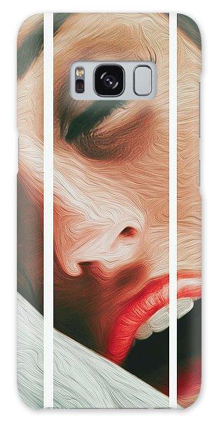 Side Kiss- Galaxy Case