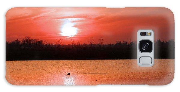 Silky Sunset Galaxy Case