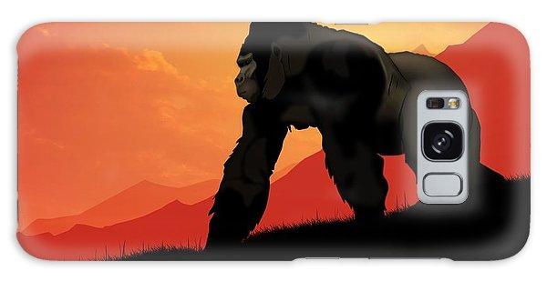 Silverback Gorilla Galaxy Case by John Wills