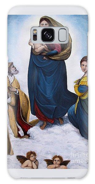 Sistine Madonna Galaxy Case