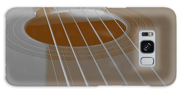 Six Guitar Strings Galaxy Case by Angelo DeVal