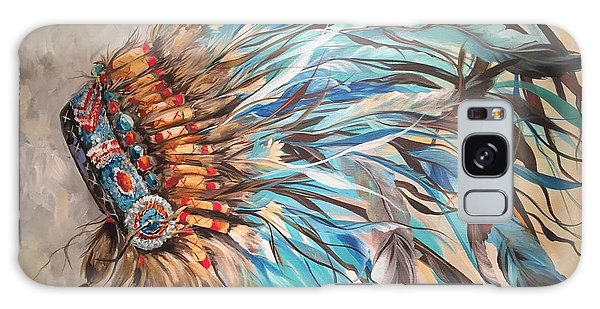 Sky Feather Galaxy Case by Heather Roddy