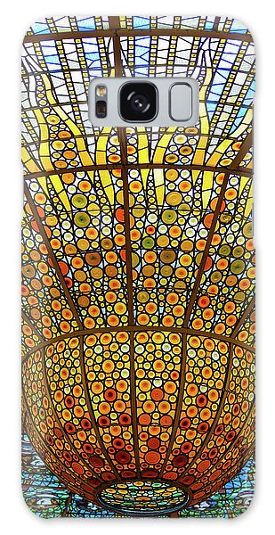 Skylight In Palace Of Catalan Music  Galaxy Case