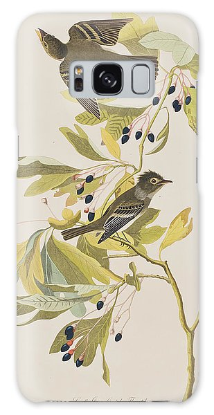 Flycatcher Galaxy Case - Small Green Crested Flycatcher by John James Audubon