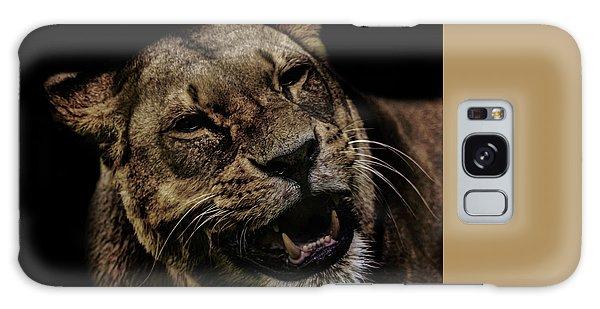 Orangutan Galaxy Case - Smile by Martin Newman