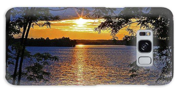 Smith Mountain Lake Summer Sunet Galaxy Case