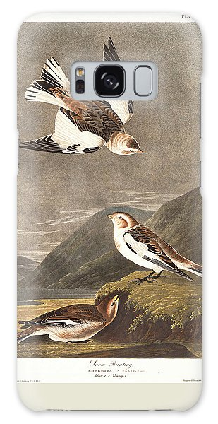 Snow Bunting Galaxy Case