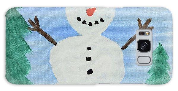 Snowman Galaxy Case by Anthony LaRocca