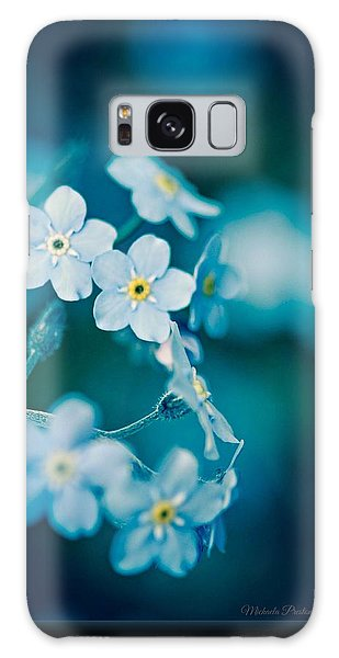 Galaxy Case featuring the photograph Soft Blue by Michaela Preston