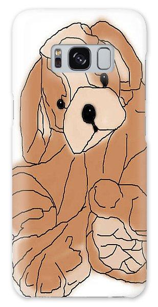 Galaxy Case featuring the digital art Soft Puppy by Jayvon Thomas