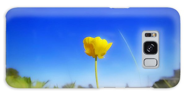 Solitary Flower Galaxy Case