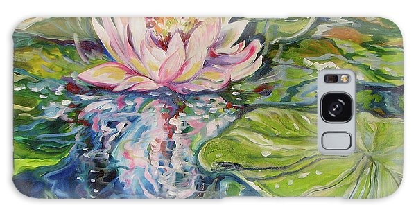 Solitude Waterlily Galaxy Case