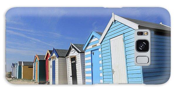 Southwold Beach Huts Galaxy Case