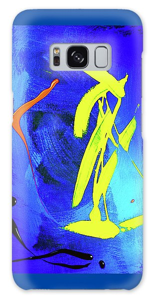Galaxy Case featuring the photograph Space Dance by Elf Evans