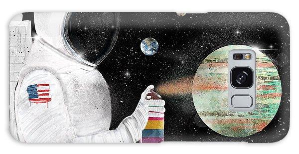 Astronaut Galaxy Case - Space Graffiti by Bri Buckley