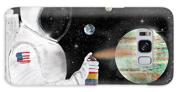 Outer Space Galaxy Case - Space Graffiti by Bri Buckley