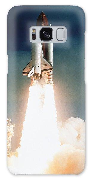 Space Shuttle Launch Galaxy Case