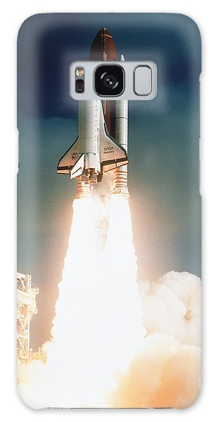Space Shuttle Launch Galaxy Case