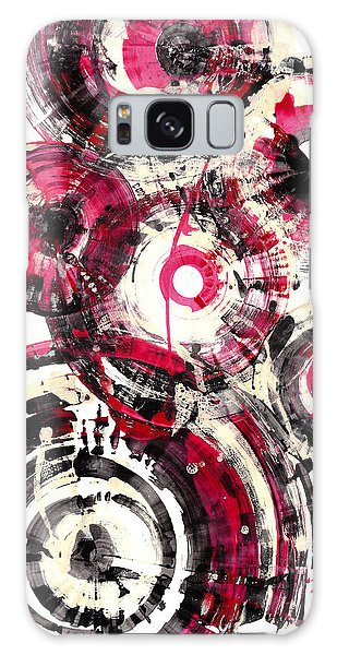 Galaxy Case featuring the painting Sphere Series 1025.050412 by Kris Haas