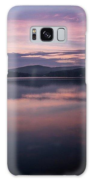 Spofford Lake Sunrise Galaxy Case
