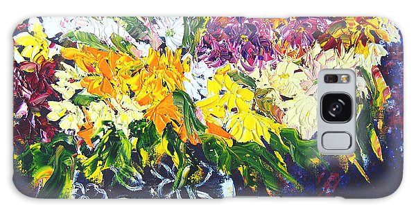 Spring Flowers Galaxy Case by Lynda Cookson