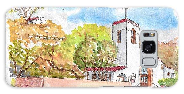 St. Catherine Of Alexandria Catholic Church, Avalon, Santa Catalina Island, Ca Galaxy Case