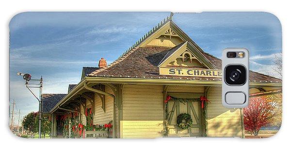 St. Charles Depot Galaxy Case by Steve Stuller