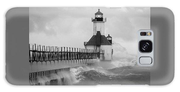 St. Joseph North Pier Lighthouse Galaxy Case