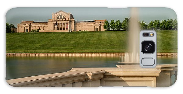 St Louis Art Museum In Forest Park Galaxy Case by Garry McMichael