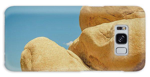 Stacked Boulders Joshua Tree Galaxy Case