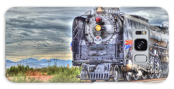 Steam Train No 844 Galaxy Case by Donna Greene