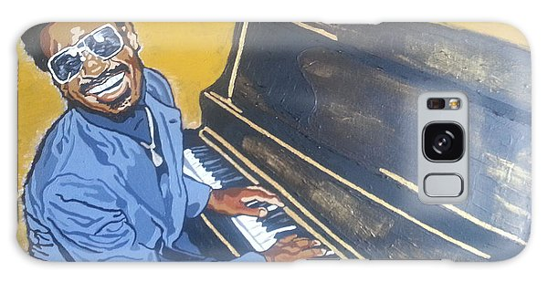 Stevie Wonder Galaxy Case by Rachel Natalie Rawlins