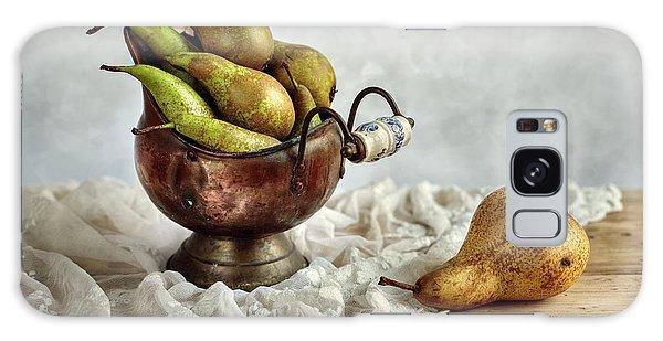 Metal Leaf Galaxy Case - Still-life With Pears by Nailia Schwarz