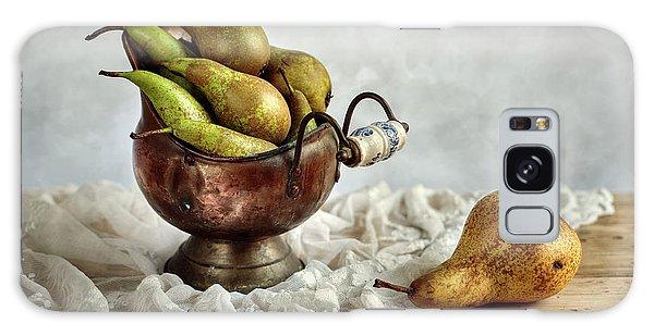Still-life With Pears Galaxy Case by Nailia Schwarz