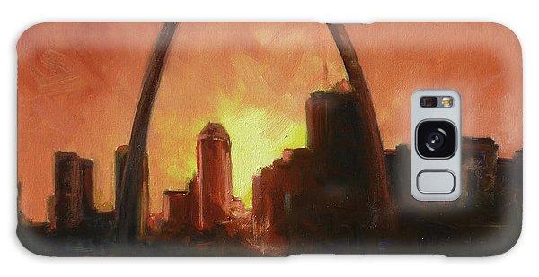 Galaxy Case - St.louis Downtown - Sunset by Irek Szelag