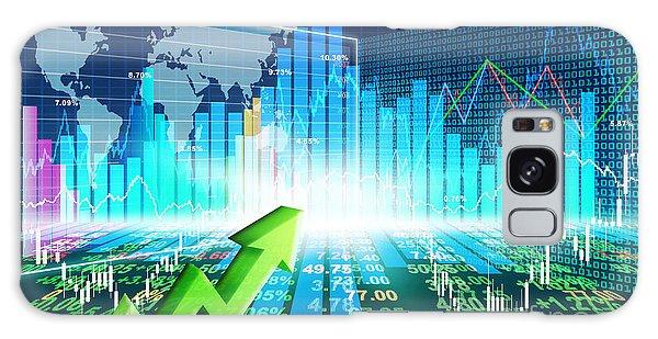 Stock Market Concept Galaxy Case