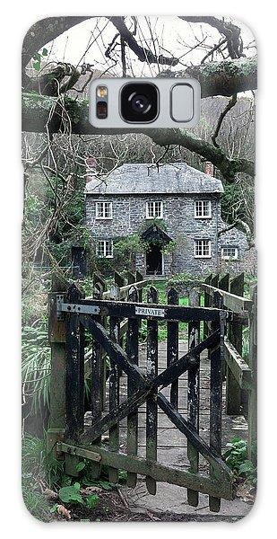 North Devon Galaxy Case - Stone Cottage by Joana Kruse