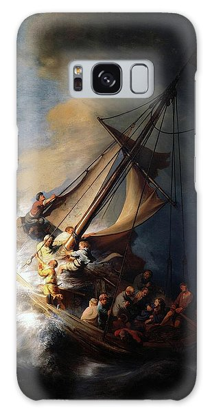 Storm On The Sea Of Galilee Galaxy Case
