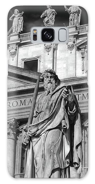 St.peter Statue At The Vatican Galaxy Case