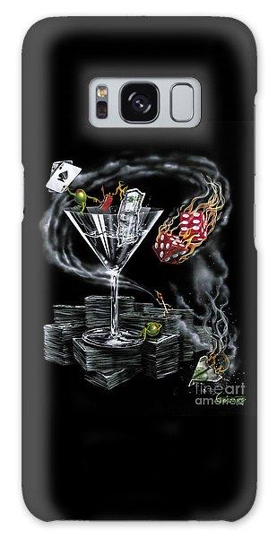 Martini Galaxy S8 Case - Strike It Rich by Michael Godard