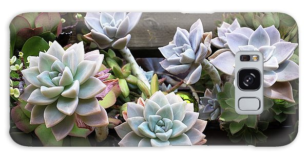 Succulents Galaxy Case by Catherine Lau