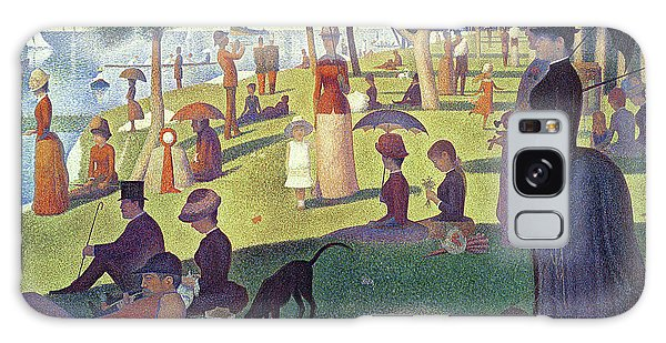 Place Galaxy Case - Sunday Afternoon On The Island Of La Grande Jatte by Georges Pierre Seurat