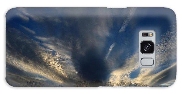 Sundown Skies Galaxy Case by Kathryn Meyer